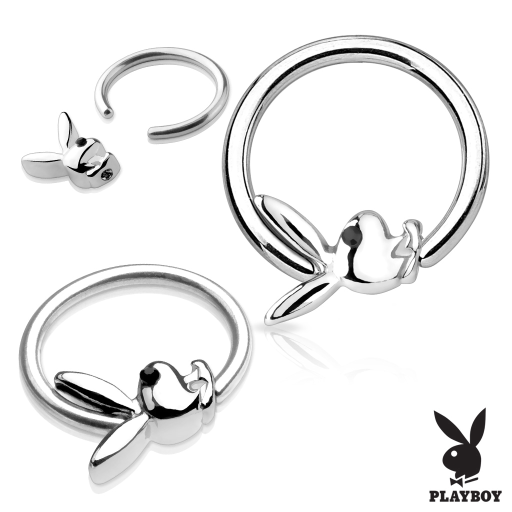 Piercing - kruh Playboy